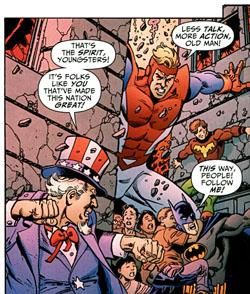 """Immagine da """"DC Universe: Legacies"""" #5 (2010)"""
