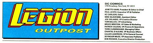 Immagine da Legion of Super-Heroes (vol. IV) #70 (Luglio 1995)