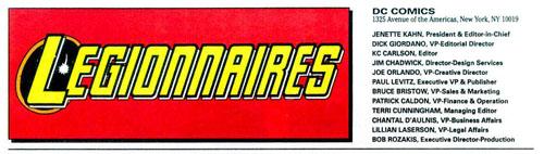 Immagine da Legionnaires #4 (Luglio 1993)