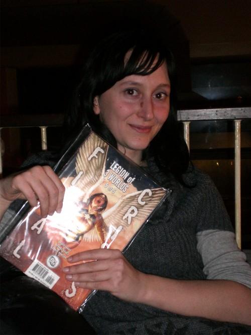 Alice Rinaldi mette le mani sul suo meritato premio