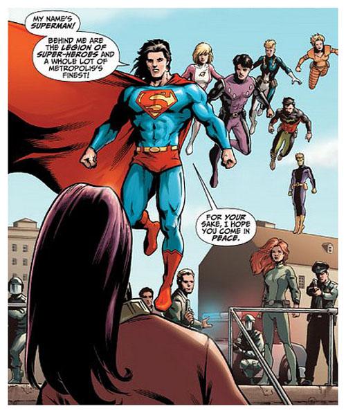 Immagine da DC Universe Legacies #9