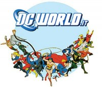 Il logo di DC World su Facebook