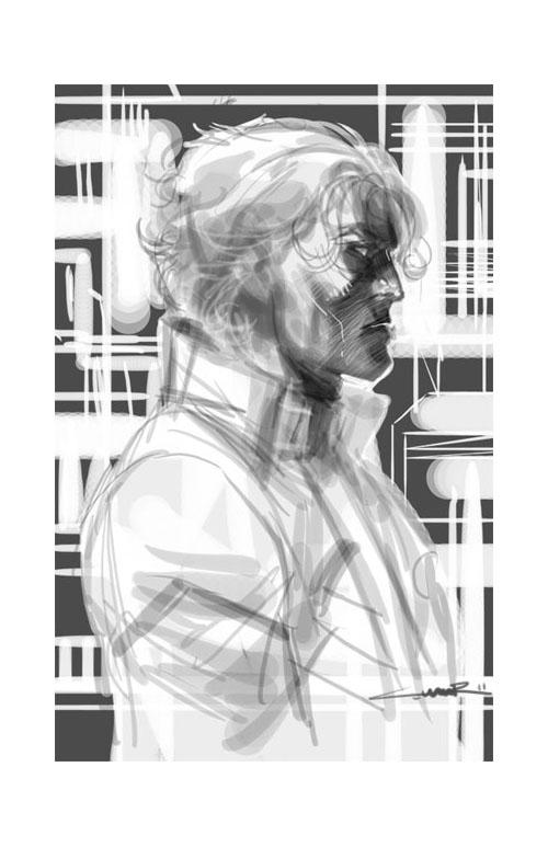 Brainiac 5 visto da Yildiray Cinar