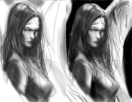 Dawnstar: work in progress di Yildiray Cinar, fase 3