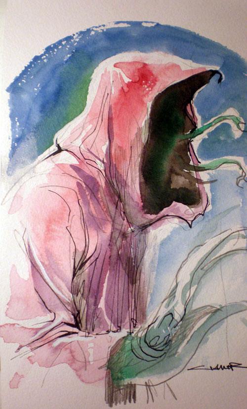 Un alieno durlaniano visto da Yildiray Cinar