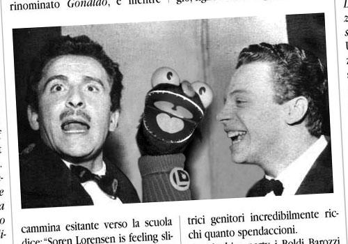 Domenico Modugno, El Braino e Johnny Dorelli al Festival di Sanremo del 1958