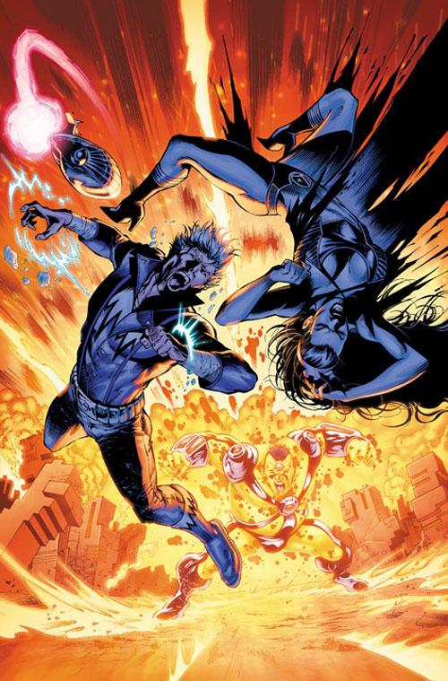 """La """"nuova"""" copertina di """"Legion of Super-Heroes"""" (vol.VI) #13, di Ylidiray Cinar"""