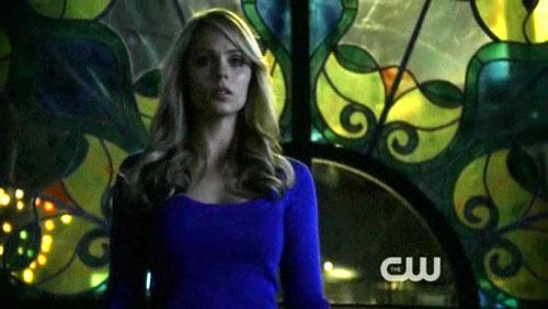 """Laura Vandervoort nei panni di Supergirl da """"Prophecy"""", terzultimo episodio di """"Smallville"""""""