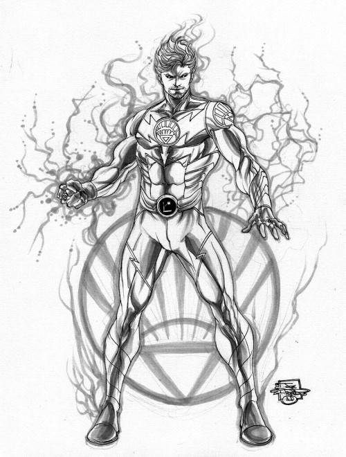 White Lantern Lightning Lad, di Joe Prado