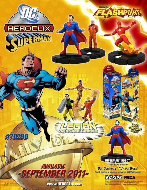 Locandina della nuova espansione di Heroclix (Clicca per ingrandire)
