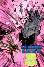 "Page from ""Legion Lost"" (vol.I) #1, art by Olivier Coipel and Andy Lanning"