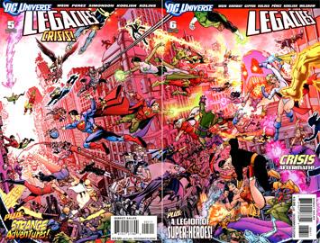 DC Universe Legacies #5 e #6