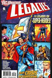 DC Universe Legacies #6 Variant Ed.