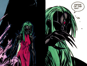 "Panels from ""Legion Lost"" (vol.I) #1 (2000), art by Olivier Coipel andAndy Lanning"