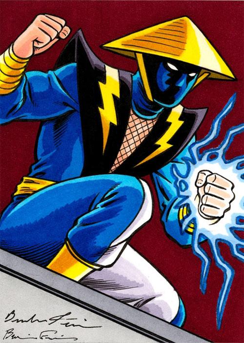 Ninja Lightning Lad, di Brandon e Brian Frain