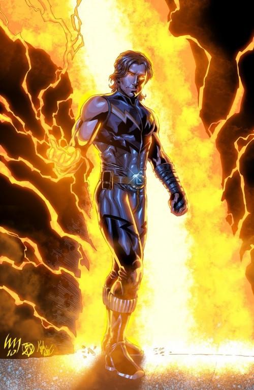 Lightning Lad visto da wrathofkhan, BDStevens e xxnightblade08xx