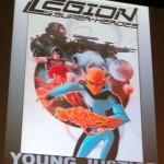 """Il nuovo logo di """"Legion of Super-Heroes"""", in anteprima dal SDCC '11"""