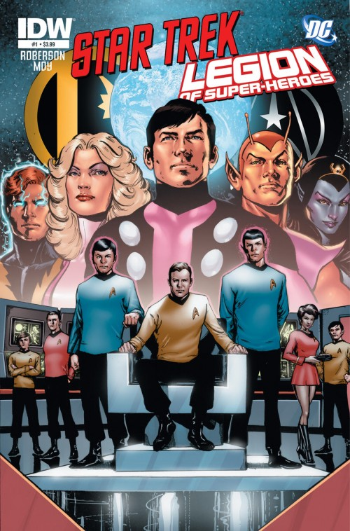 Star Trek / Legion of Super-Heroes #1 Phil Jimenez cover