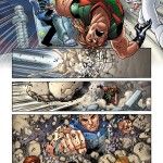 "Anteprima di ""Legion of Super-Heroes"" (vol.VII) #1, disegni di Francis Portela e Javier Mena"