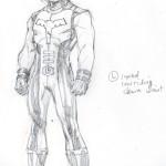 Studio di Jim Lee per il nuovo costume di Ultra Boy
